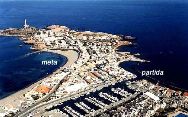 I Travesía a Nado de Cabo de Palos. Foto: Ayuntamiento de Cartagena.