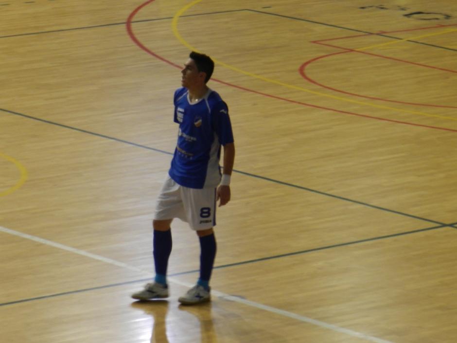 El ex capitán albiazul Pizarro fue autor de dos goles para su equipo.  Foto: Pedro Gómez (Crónicas deportivas de Cartagena).