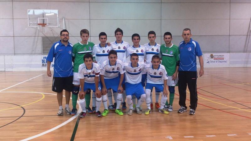 Segunda convocatoria de pruebas para el Futsal Cartagena juvenil. Foto: Futsal Cartagena.