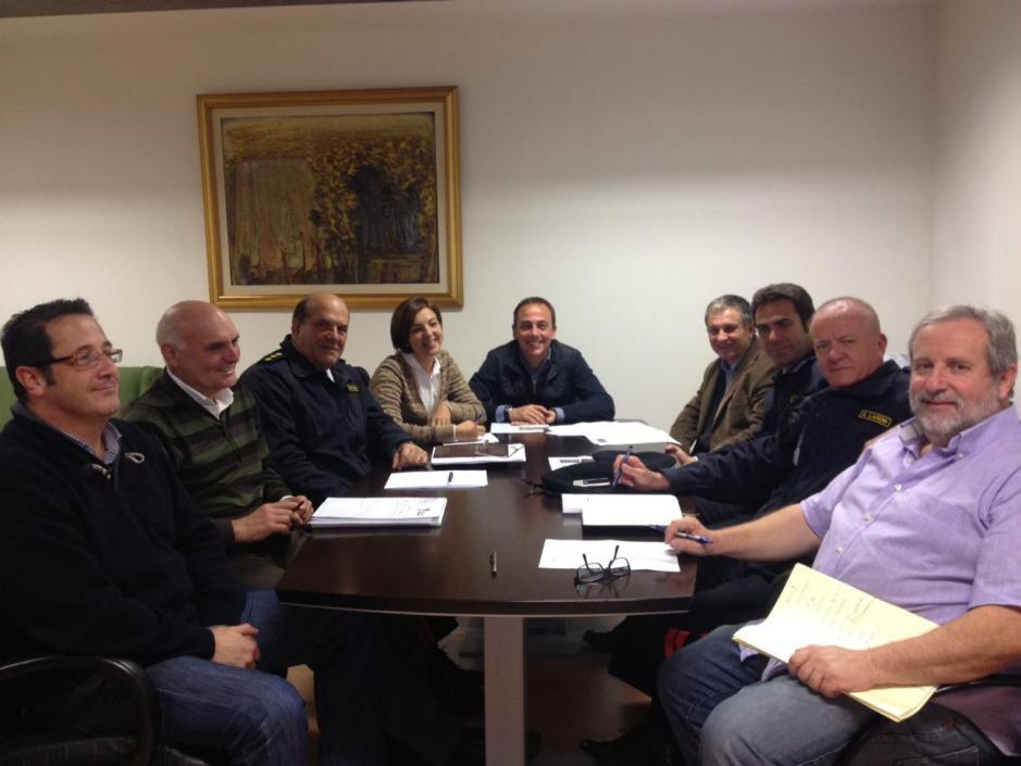 Reunión Ruta de las Fortalezas. Foto: Ayuntamiento de Cartagena.