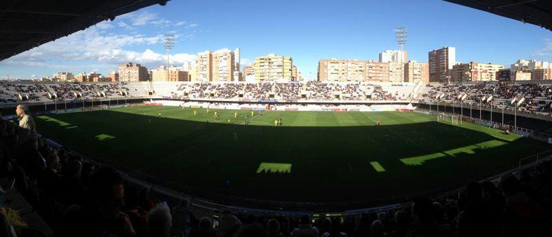 Panorámica del FC Cartagena Cádiz