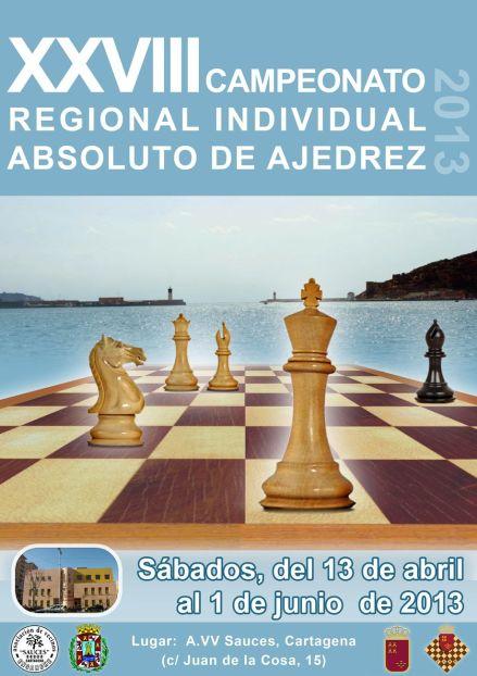 Cartel campeonato absoluto de ajedrez