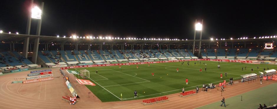 Panorámica del estadio del Almería