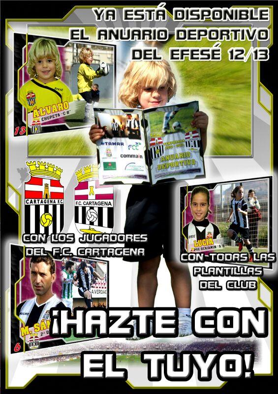 Cartagena FC: A la venta el Anuario Deportivo de la Temporada 2012 ...