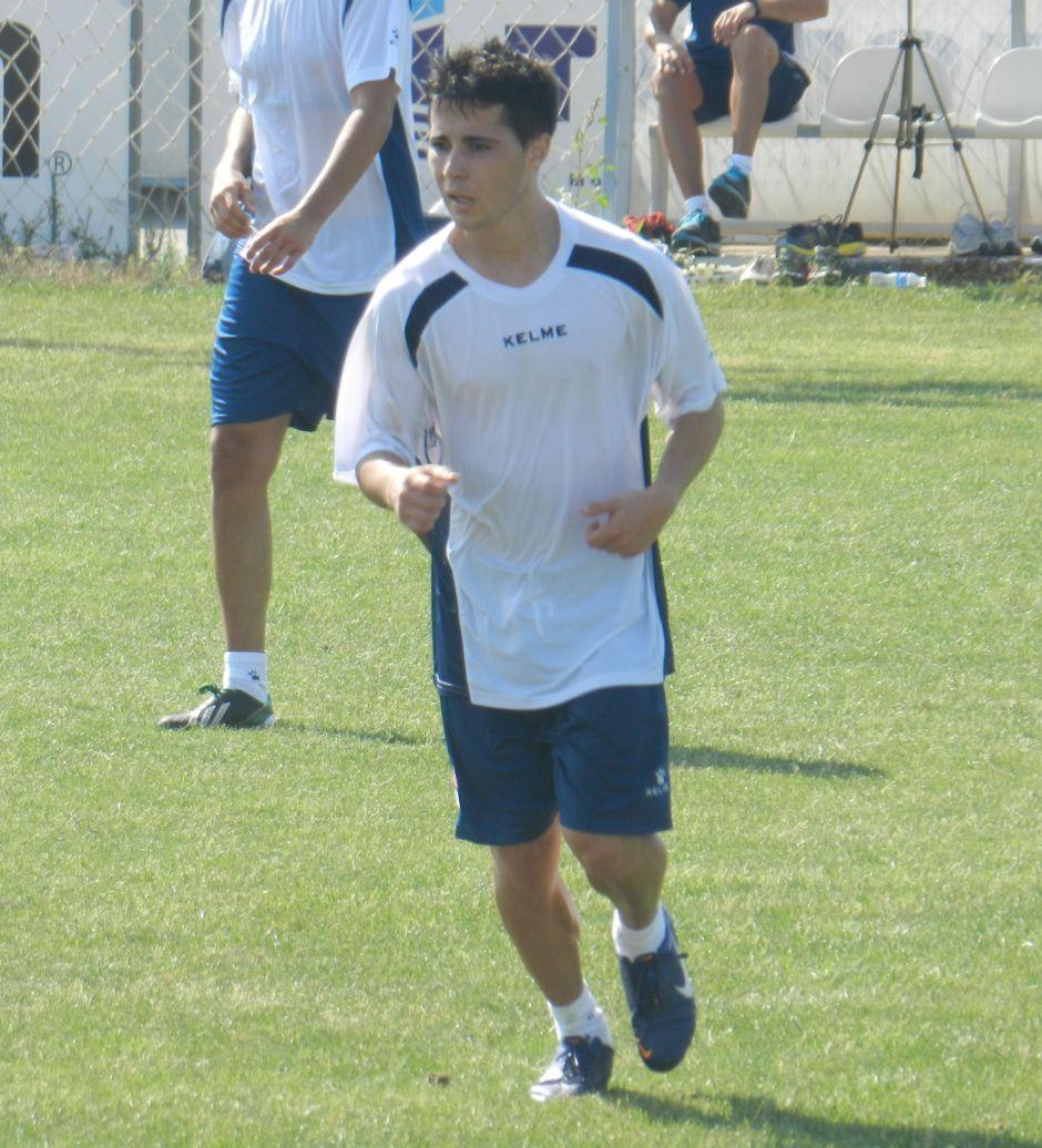 Dani Nadal. Foto: Pedro Gómez (Crónicas deportivas de Cartagena).