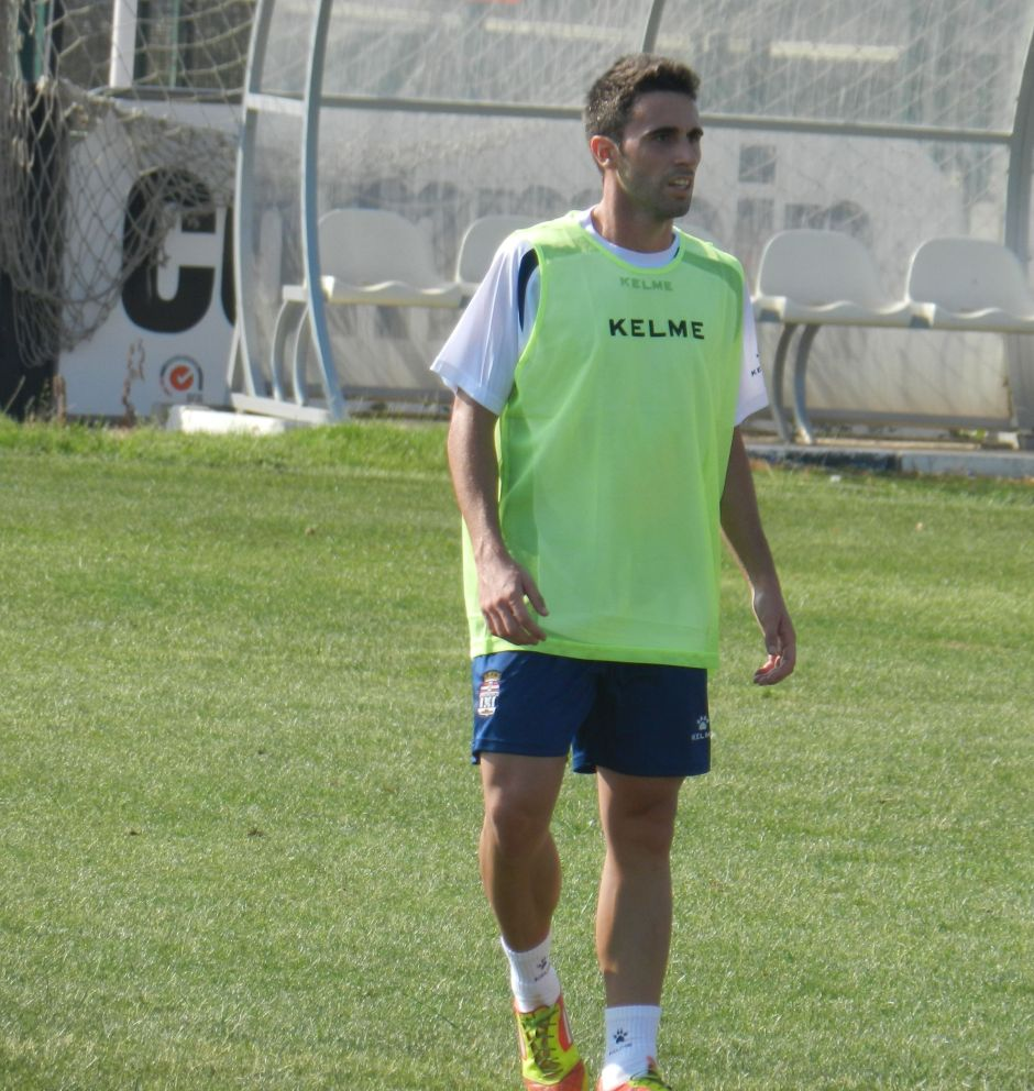Dani Ruiz. Foto: Pedro Gómez (Crónicas deportivas de Cartagena).
