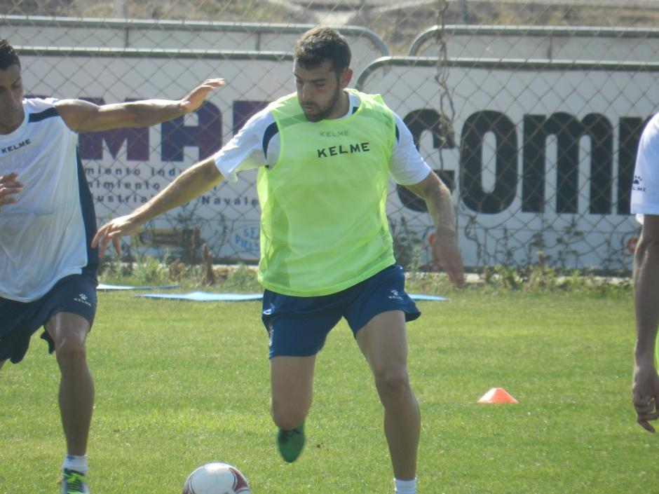 Diego Marín. Foto: Pedro Gómez (Crónicas deportivas de Cartagena).