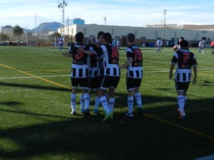 EL Cartagena FC de División de Honor vence al Alcoyano por 3-2