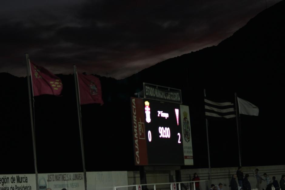FC Cartagena 0 Albacete Balompié 2. Foto: Pedro Gómez (Crónicas deportivas de Cartagena).