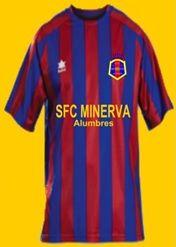 Camiseta SFC Minerva.