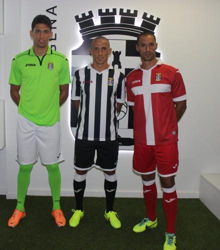 EQUIPACIONES FC CARTAGENA 2014 15