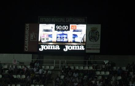 FC Cartagena 1 Marbella FC 1 Foto Pedro Gómez (Crónicas deportivas de Cartagena)