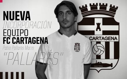 Fichaje de Pallarés por el FC Cartagena