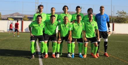 Formación FC Cartagena en El Algar