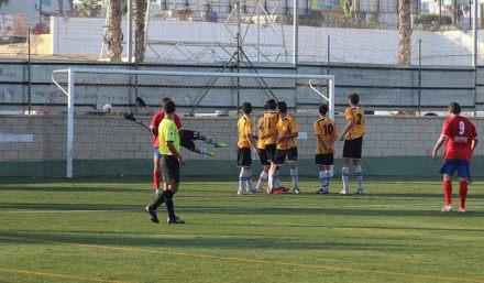 Gol de Bauti Foto Pedro Gómez (Crónicas deportivas de Cartagena)