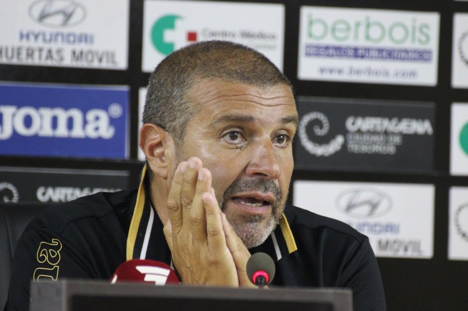 Julio César Ribas, Mánager General del FC Cartagena. Foto: Pedro Gómez (Crónicas deportivas de Cartagena).