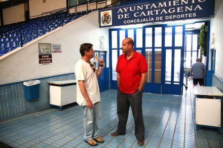 Visita de Carlos Garranzo al concejal de deportes (2)