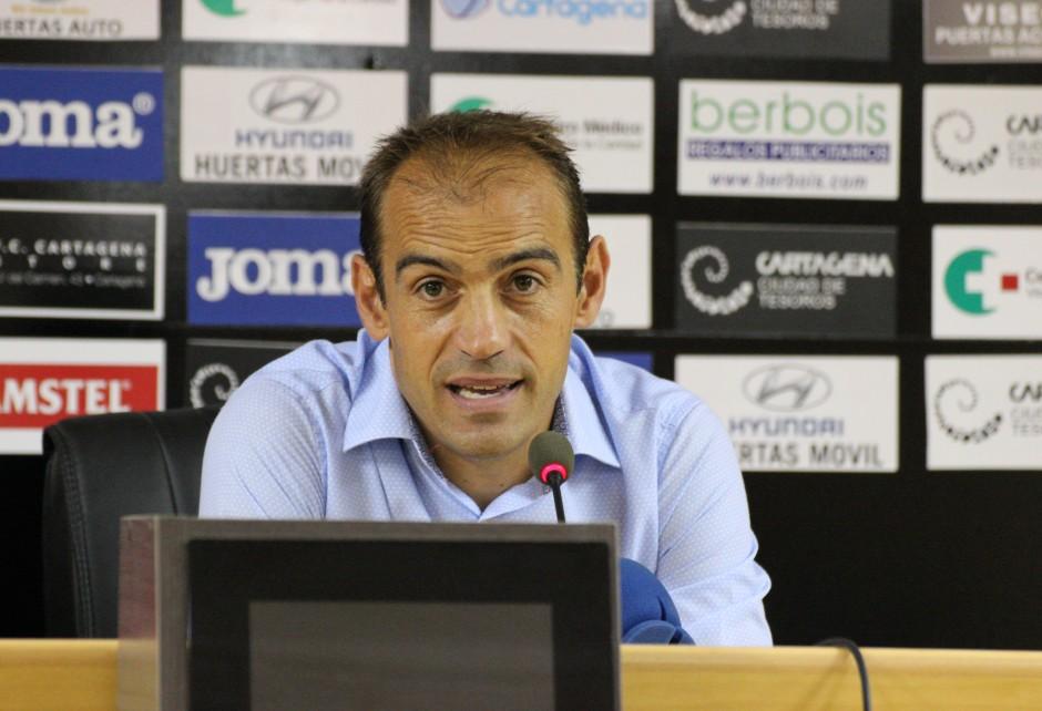ELOY JIMÉNEZ POST PARTIDO FC CARTAGENA 0 UCAM MURCIA CF 0--