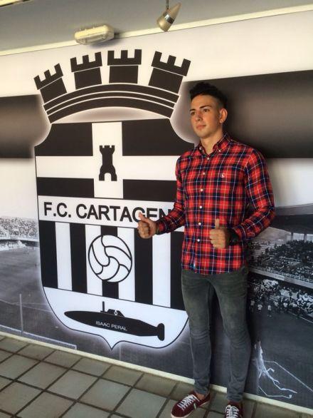 Jose Antonio Manzanares Pérez nuevo portero del FC Cartagena