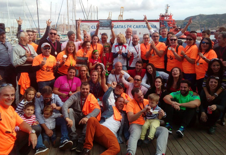 Éxito Dragon Boat en Cartagena