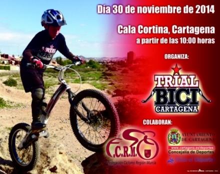 Campeonato Regional de Trial Bici en Cartagena.