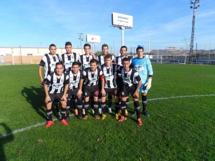 Formación inicial del Cartagena FC frente al Águilas FC. Foto: Cartagena FC.