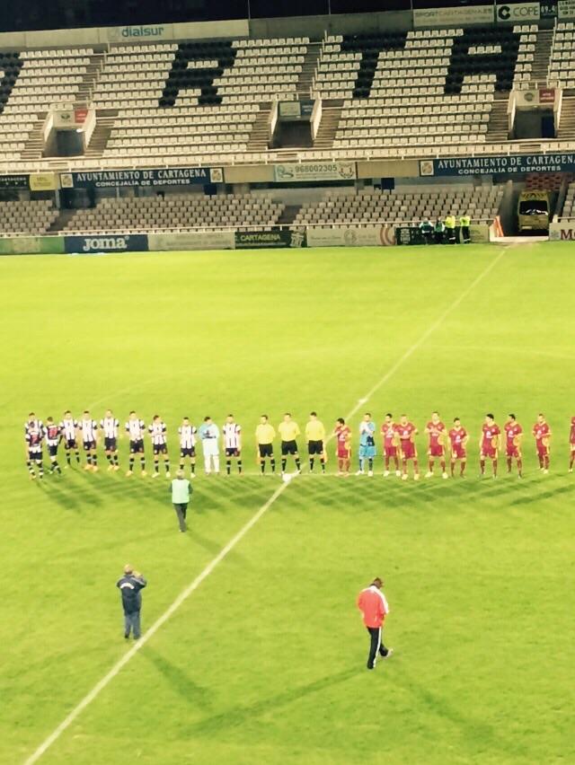 Cartagena FC 0 UB Conquense 1