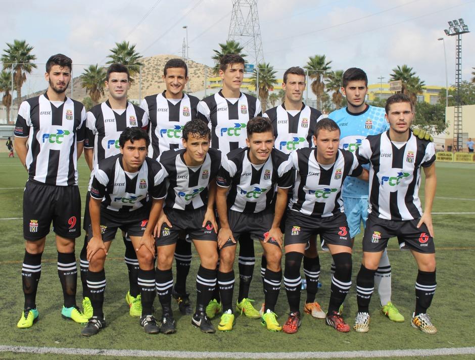 Cartagena FC Juvenil (archivo). Foto: Pedro Gómez (Crónicas deportivas de Cartagena).
