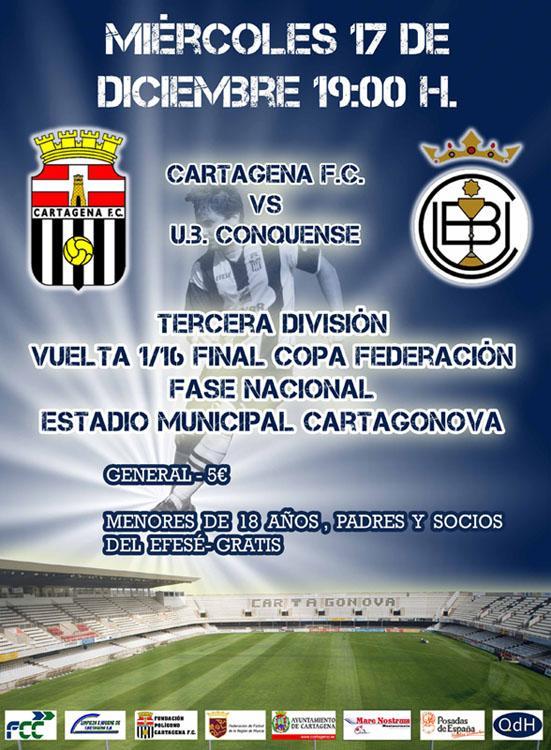 Cartagena FC UB Conquense