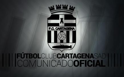 COMUNICADO OFICIAL FC CARTAGENA