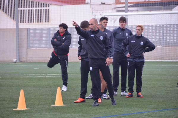 Entrenamiento del FC Cartagena en la Urba. Foto: FC Cartagena.