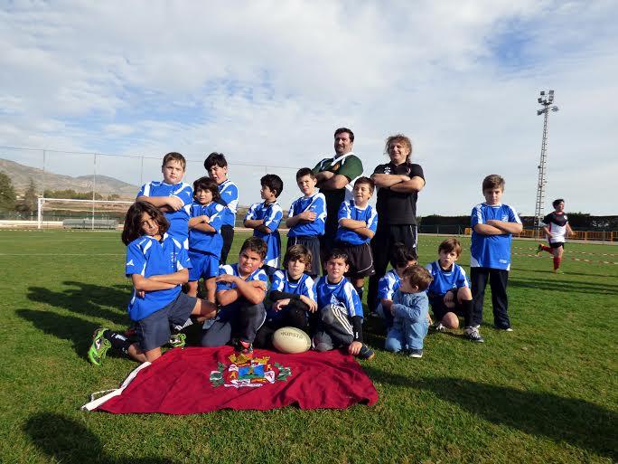 Escuelas de rugby del CRU Cartagena