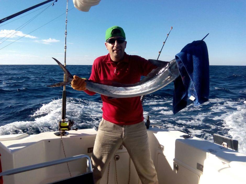 Pesca fondeada