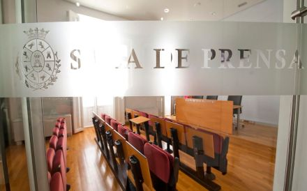 Sala de Prensa palacio consistorial