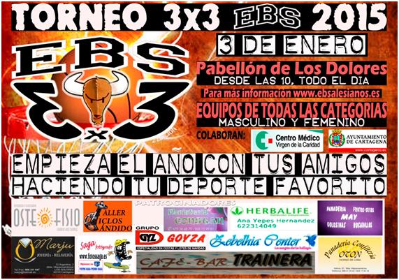Torneo 3x3 EBS Cartagena