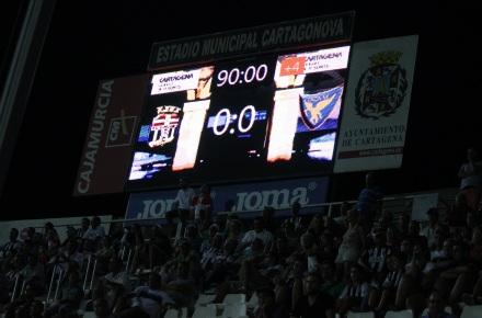 FC Cartagena 0 UCAM Murcia 0 de la ida