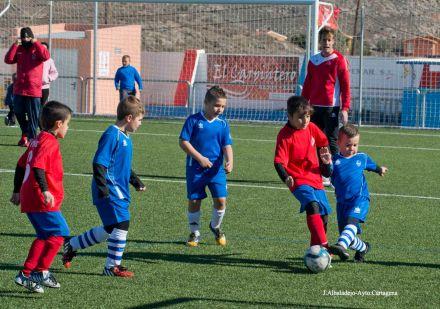 Fútbol base de Cartagena