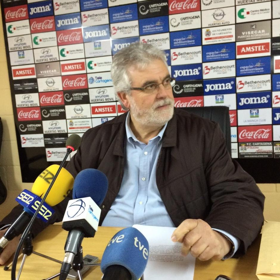 Florentino Manzano anuncia su cese de colaboración con Sporto Gol Man 2020. Foto: Pepe González (OM Radio).