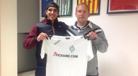 Pablo Villasur con Fran de Paula Foto FC Pinatar