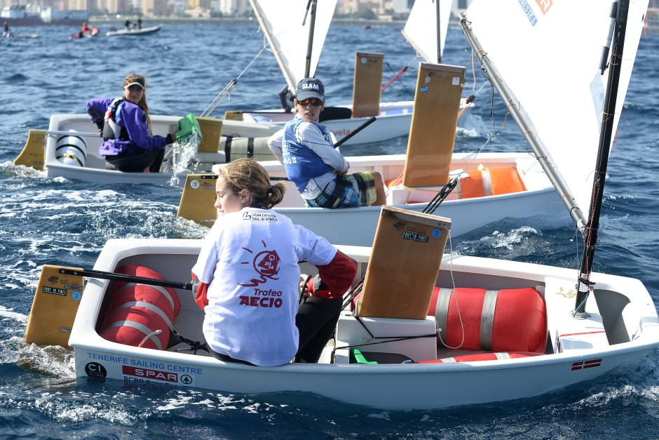 regatas participación en Gran Canaria