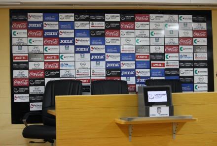 Sala de prensa del Cartagonova