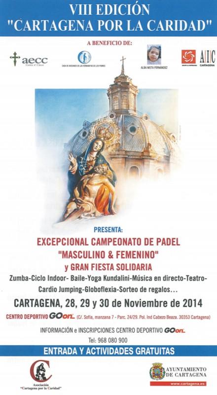 VIII Edición de Cartagena por la Caridad