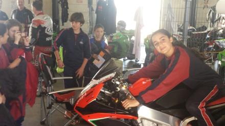 Alumnos del Narval en el Circuito de Velocidad de Cartagena-