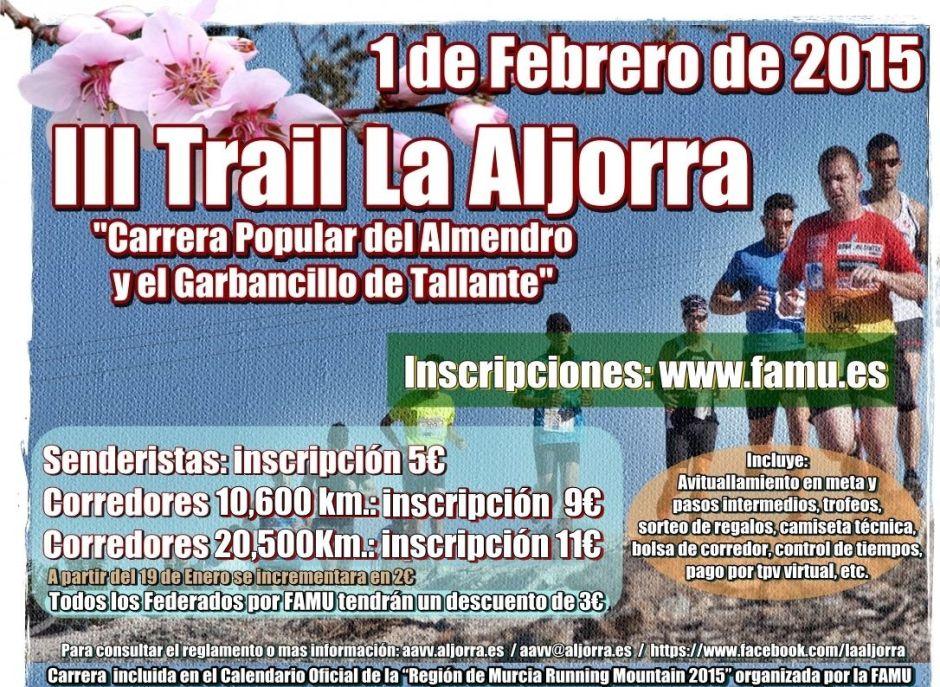 Cartel III Trail La Aljorra