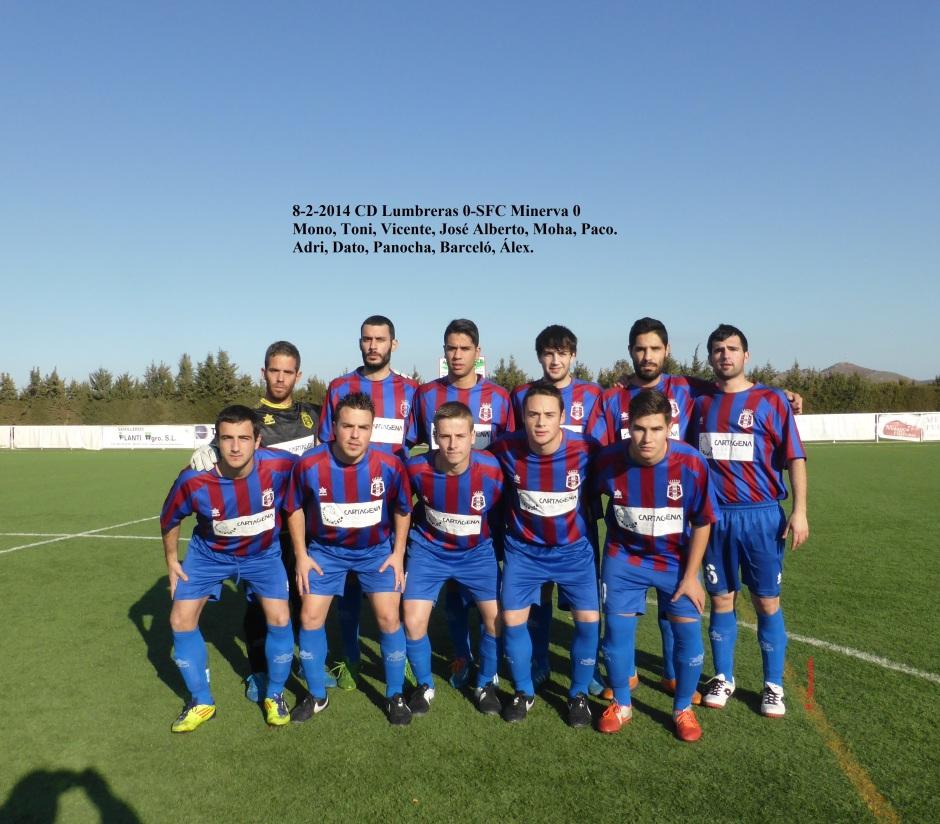 CD Lumbreras-SFC Minerva8-2-2014
