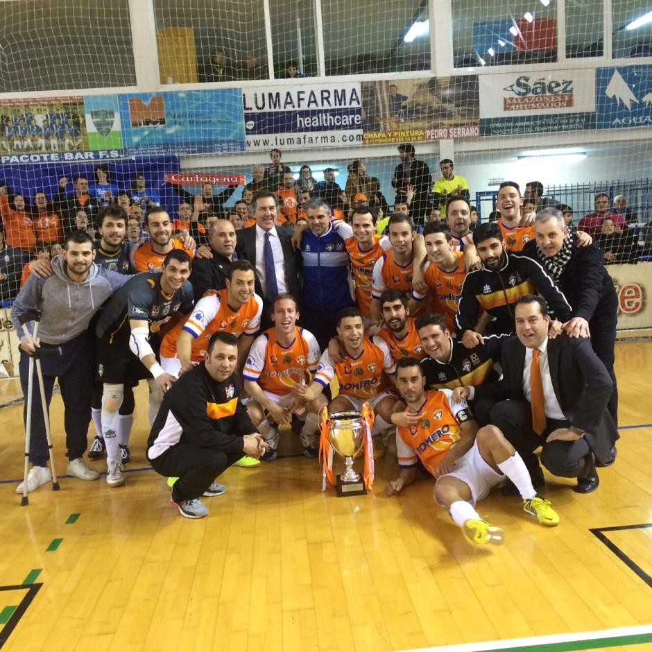 ElPozo Murcia FS 2 Plásticos Romero Cartagena FS 3 Campeón V Copa Presidente (1)