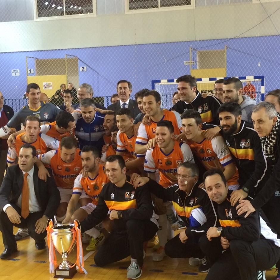 ElPozo Murcia FS 2 Plásticos Romero Cartagena FS 3 Campeón V Copa Presidente (6)