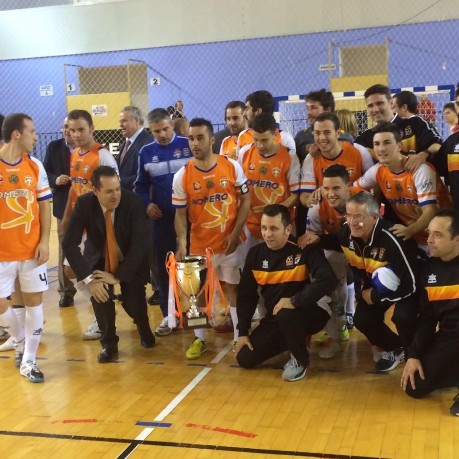 ElPozo Murcia FS 2 Plásticos Romero Cartagena FS 3 Campeón V Copa Presidente (8)