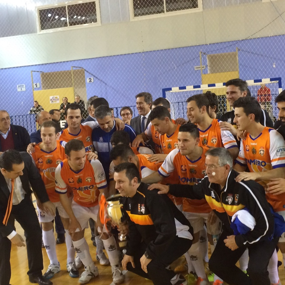 ElPozo Murcia FS 2 Plásticos Romero Cartagena FS 3 Campeón V Copa Presidente (9)