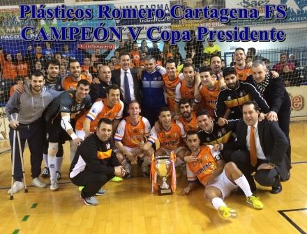 Plásticos Romero Cartagena FS CAMPEÓN V Copa Presidente